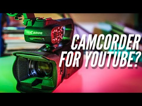 The Case for the Camcorder | Canon XA40