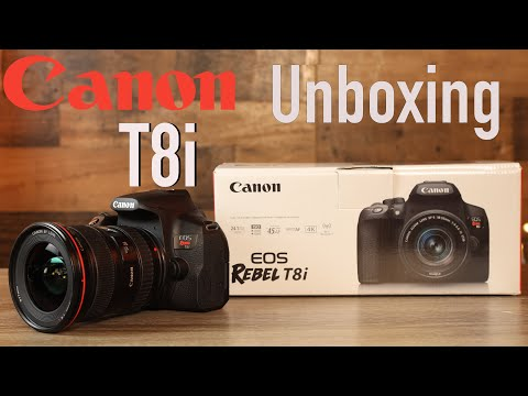 Canon Rebel T8i (850D) Unboxing & First Look