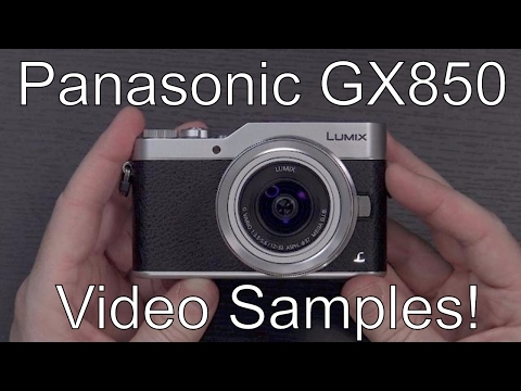 Panasonic GX850 Unboxing, Video Samples, and Comparison to Panasonic G7