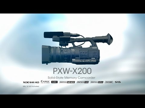PXW-X200 Functional Video