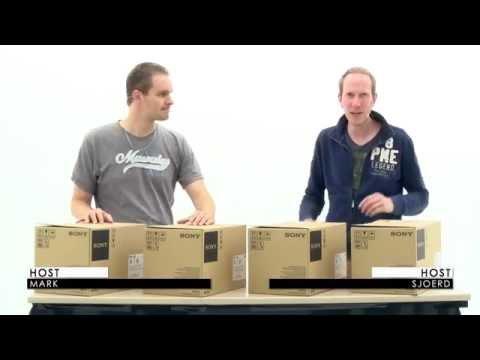 Unboxing Sony PXW-X160