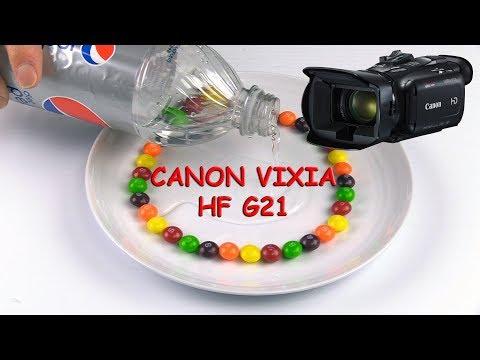 Canon Vixia HF G21 | Legria HF G26 Test Vidéo