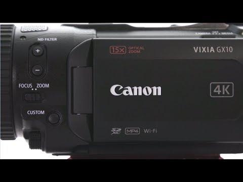 Quick Look: Canon VIXIA GX10 Camcorder