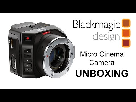 Blackmagic Micro Cinema Camera Unboxing