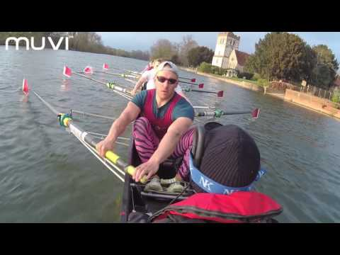 Muvi K-Series K-2 Pro Wi-Fi Handsfree Action Camera with Marlow Rowing Club - powered by Veho