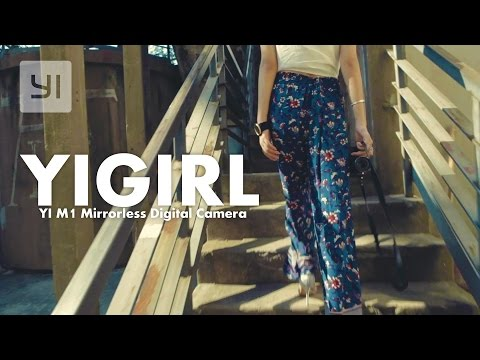 YICamera Girl YI M1 Mirrorless Digital Camera Demo #YIM1