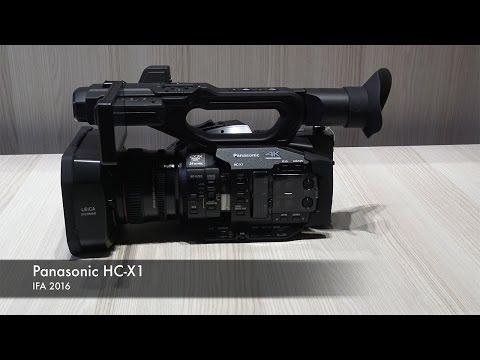 IFA 2016: Panasonic HC-X1