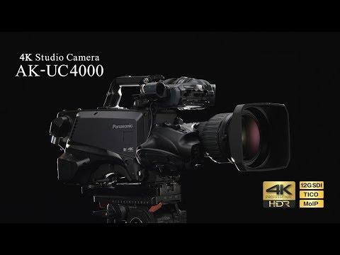 Panasonic AK-UC4000 4K Studio Camera Product Promotion(ENG)
