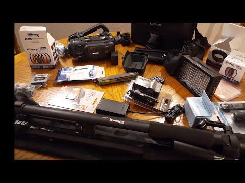 Canon XA55 kit Unboxing!