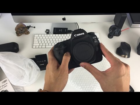 Canon 5D Mark IV Unboxing