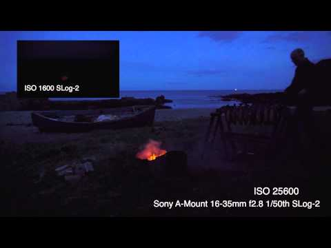 α7S(A7S): Low Light Demonstration (ISO 1600- 409600) (from Sony: Official Video Release)