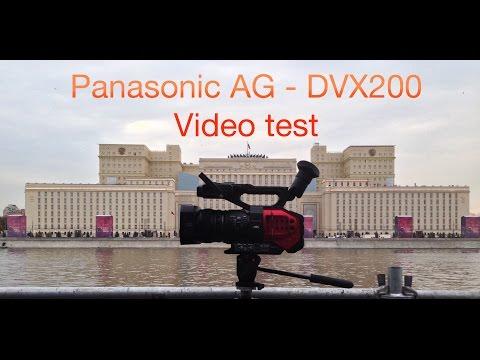 4k Test Panasonic AG-DVX200