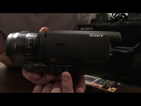 FDR-AX700 (Sony HDR Camcorder Unboxing)