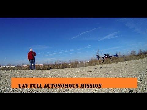 3D Robotics Y6 UAV Full Autonomous Mission
