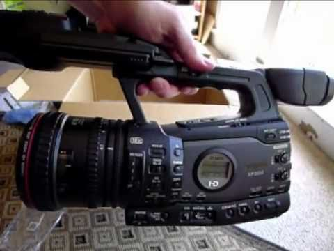 Opening up the new Canon XF 300 Camcorder