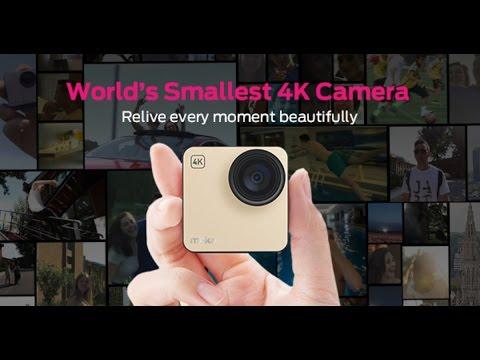 World's Smallest 4K Camera - Mokacam