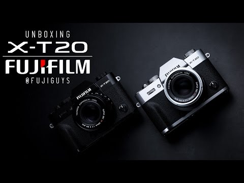 Fuji Guys - FUJIFILM X-T20 - Unboxing and Getting Started