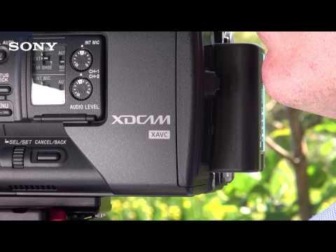 PXW-X180 (XDCAM 3CMOS Camcorder) Behind the scene