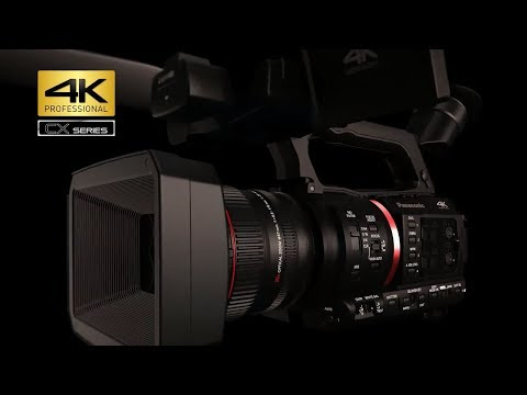 Product Features | Panasonic AG-CX350 4K Handheld Camcorder