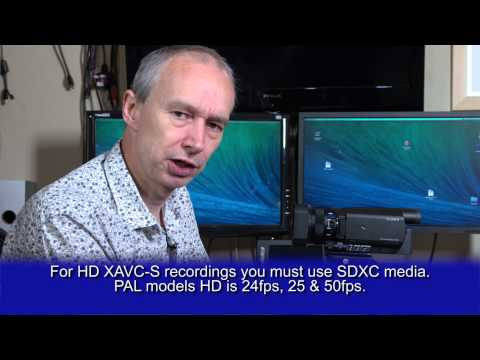 Sony AX100 4K camcorder review.