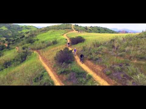 Mountain Biking in 4K with DJI Phantom 3 - First Footage