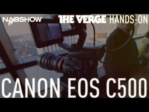 Canon EOS C500 hands-on