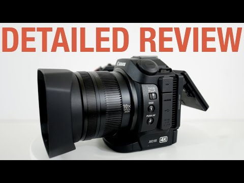 Full Detailed Review of Canon XC15 4K Camcorder Camera