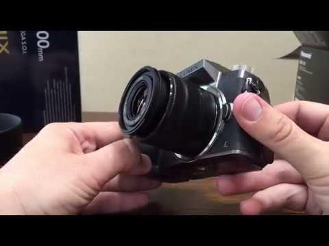 Panasonic DMC G7 Silver Unboxing