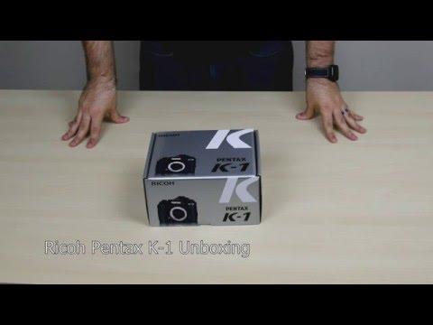Ricoh Pentax K-1 Unboxing