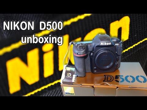 NIKON D500 - Unboxing