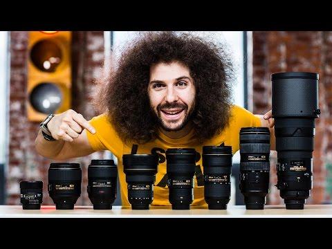 """My """"ULTIMATE"""" NIKON Full Frame Lens Kit"""