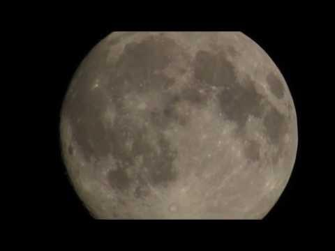 CANON SX540 HS Moon Super Zoom Test