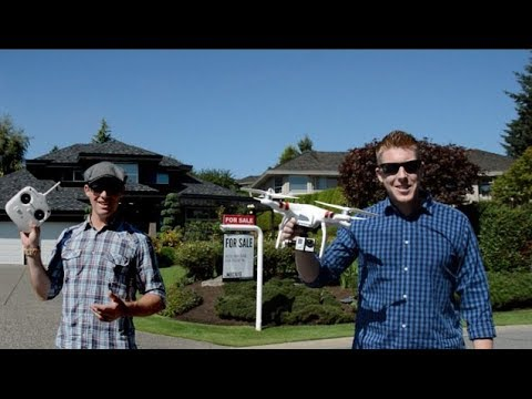 Vancouver Real Estate video using Quadcopter Drone