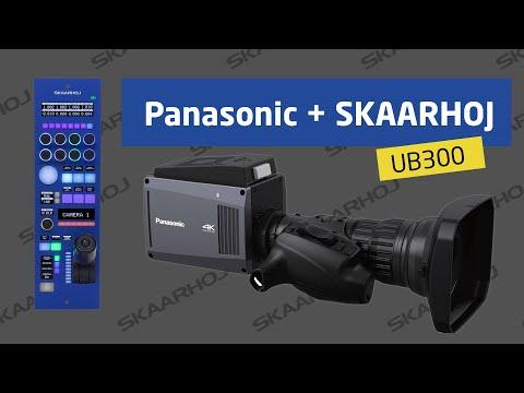 Shading an Panasonic UB300 with SKAARHOJ RCPv2