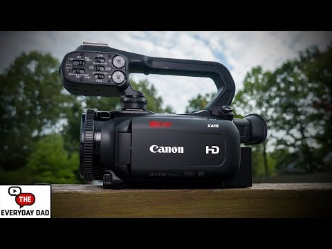 Canon XA15! An All in One Video MONSTER?!