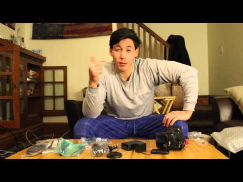 Canon Vixia HF G40 Unboxing and Footage