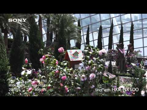 HXR-NX100 Beauty Image Reel
