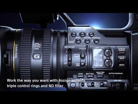 PXW-Z100 (XDCAM 4K Handheld Camcorder)