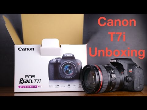 Canon Rebel T7i (800D) Unboxing & First Look
