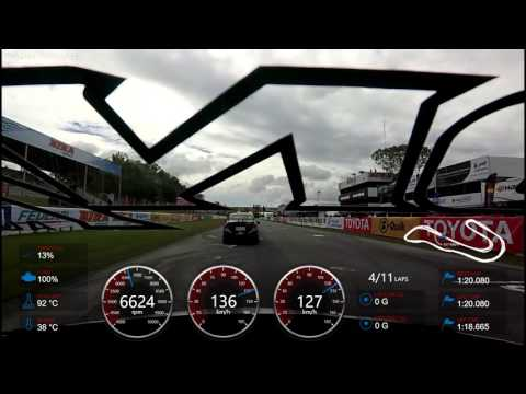 Test Garmin VIRB XE in Race cars.
