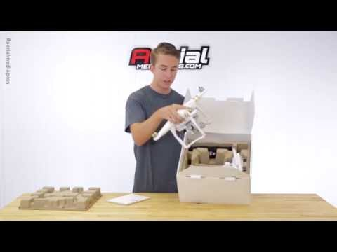 Official DJI Phantom 3 Professional Unboxing (First Production Model) by AerialMediaPros.com