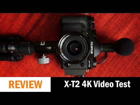 Fujifilm X-T2: Quick 4K Vlogging Video Test