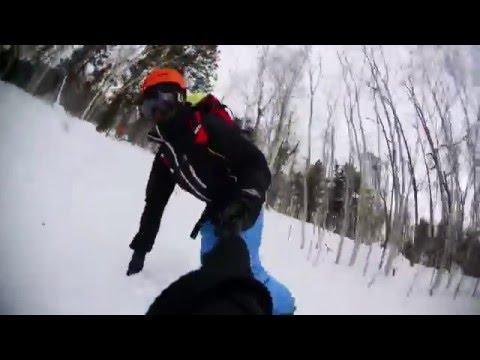 RICOH WG-M2 Snowboarding self camera