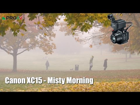 "Canon XC15 - ""A Misty Morning"" - Example Footage"