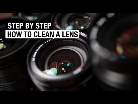 How to CLEAN Your CAMERA LENS - Fast and Easy