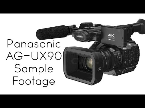 Panasonic AG-UX90 Sample Footage
