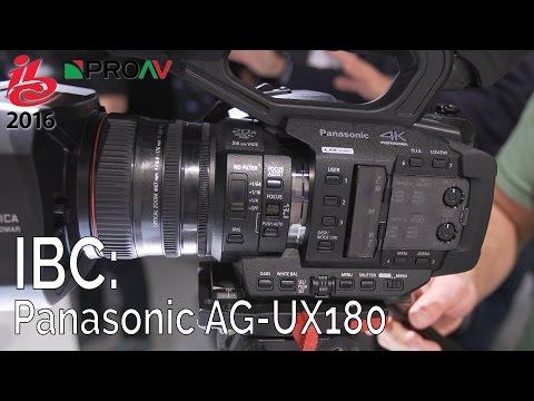 Panasonic AG-UX180 - IBC 2016