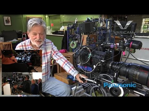 Oscar-winning cinematographer chooses Panasonic Varicam 35