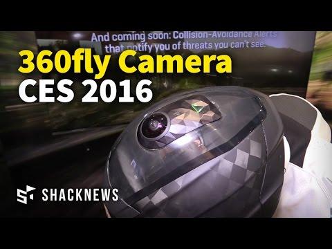CES 2016: 360fly 4K HD Camera Demo