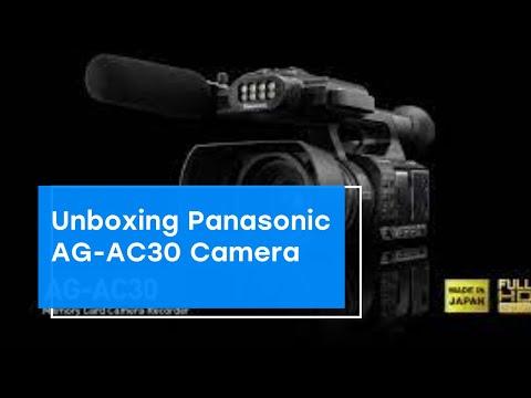 Unboxing Panasonic AG-AC30 Camera